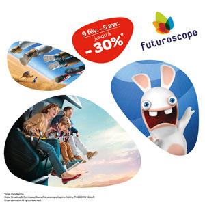 FUTUROSCOPE-OFFRE RÉOUVERTURE 2019 LE FUTUROSCOPE événement
