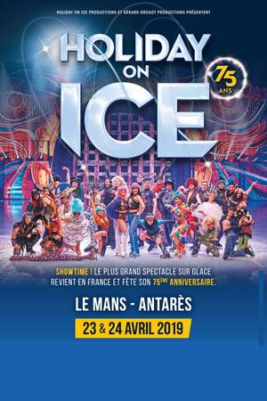 Plus d'infos sur l'évènement HOLIDAY ON ICE