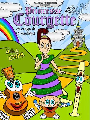 PRINCESSE COURGETTE... THEATRE L'ALPHABET pièce de théâtre pour enfant