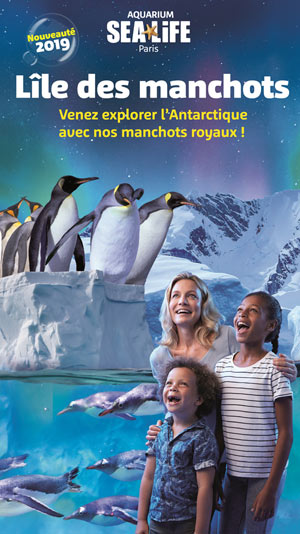 AQUARIUM SEALIFE - VENTE FLASH AQUARIUM SEA LIFE VAL D'EUROPE événement