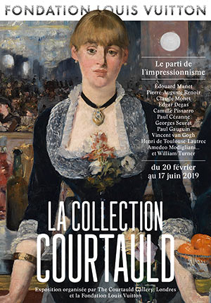 LA COLLECTION COURTAULD Fondation Louis Vuitton exposition