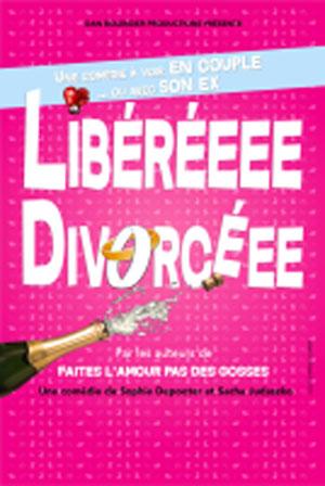 LIBEREEEE DIVORCEEE le rideau rouge comédie, pièce de théâtre d'humour