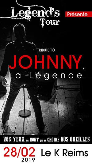 Plus d'infos sur l'évènement TRIBUTE TO : JOHNNY, LA LEGENDE