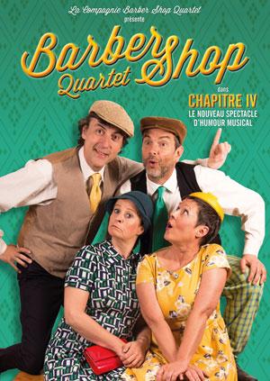 BARBER SHOP QUARTET Théâtre Essaion de Paris pièce de théâtre musical