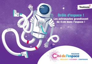 DECOUVERTE CITE DE L'ESPACE + Cité de l'Espace événement