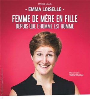 EMMA LOISELLE Le Quai du Rire one man/woman show