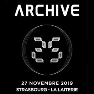 Plus d'infos sur l'évènement ARCHIVE