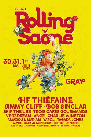 FESTIVAL ROLLING SAONE HALLE SAUZAY - GRAY concert de musique d'Europe