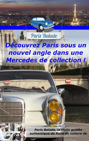 PARIS BALADE RIVE GAUCHE MERCEDES