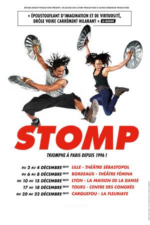 STOMP Théâtre Fémina spectacle
