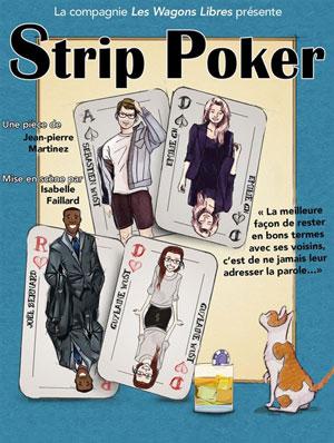STRIP POKER Le Quai du Rire spectacle de café-théâtre