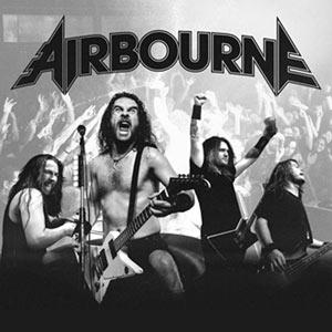AIRBOURNE La Laiterie concert de hard-rock métal