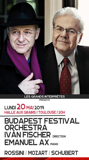 BUDAPEST FESTIVAL ORCHESTRA Halle Aux Grains concert de musique classique