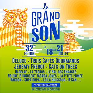 FESTIVAL LE GRAND SON - PASS 1 JOUR CHAPITEAU concert de chanson française