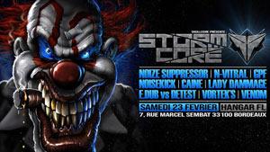 STORMCORE HANGAR FL concert d'électro