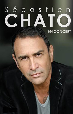 SEBASTIEN CHATO CASINO PARTOUCHE HYERES concert de chanson française