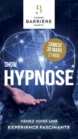SHOW HYPNOSE - MAGIC CHAZ LE CASINO évènement