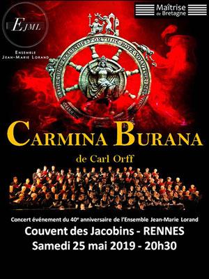 CARMINA BURANA COUVENT DES JACOBINS concert de musique classique