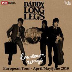 DADDY LONG LEGS LE 3 PIECES MUSIK CLUB concert de hard-rock métal