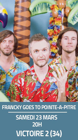 FRANCKY GOES TO POINTE-A-PITRE SALLE VICTOIRE 2 concert de musique d'Afrique