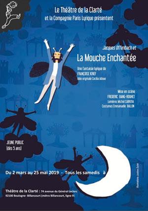 JACQUES OFFENBACH ET LA MOUCHE... Théâtre de La Clarté spectacle pour enfant