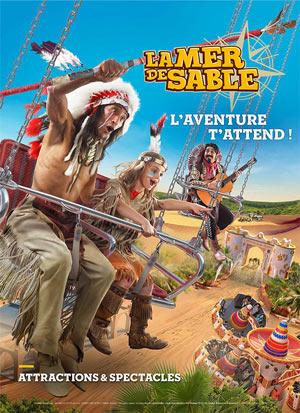 PASS SAISON AVENTURIER MER DE SABLE LA MER DE SABLE événement