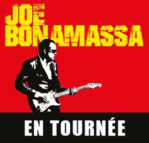 Plus d'infos sur l'évènement JOE BONAMASSA