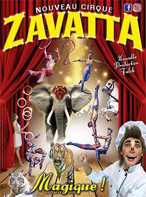 Plus d'infos sur l'évènement NOUVEAU CIRQUE ZAVATTA