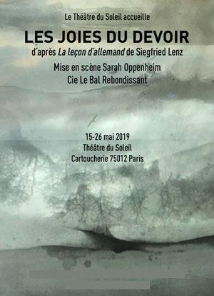 LES JOIES DU DEVOIR Thêatre du Soleil pièce de théâtre contemporain