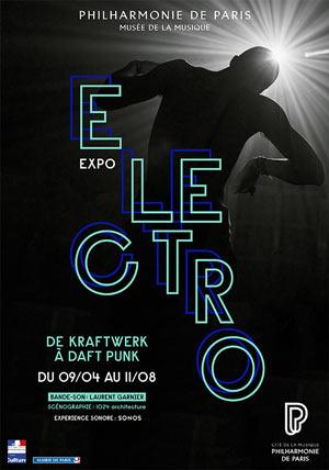 ELECTRO Philharmonie de Paris exposition