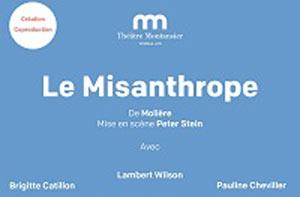 LE MISANTROPHE Théâtre Montansier de Versailles pièce de théâtre classique