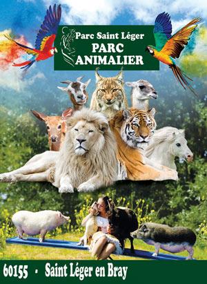 PARC SAINT LEGER - PARC ANIMALIER PARC SAINT LEGER visite de parc animalier