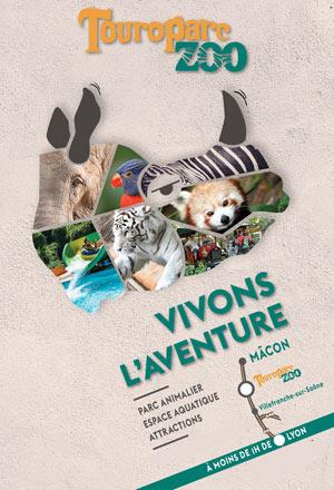 TOUROPARC ZOO - VENTE FLASH LA MAISON BLANCHE visite de parc animalier