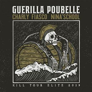 GUERILLA POUBELLE NINKASI GERLAND KAO concert de rock