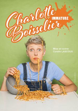 CHARLOTTE BOISSELIER ESPACE GERSON spectacle de café-théâtre