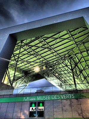 DROIT D'ENTREE AU MUSEE DES VERTS STADE GEOFFROY-GUICHARD visite de musée