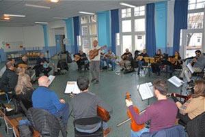 ORCHESTRE EL MAWSILI DU 93 institut du monde arabe concert de musique orientale