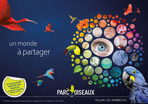 PARC DES OISEAUX - PASS SAISON 2019 PARC DES OISEAUX visite de parc animalier