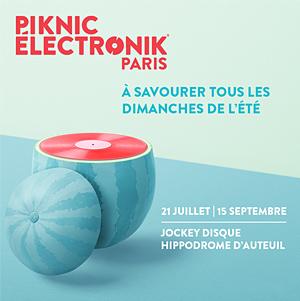Plus d'infos sur l'évènement PIKNIC ÉLECTRONIK PARIS-PASS 9 JRS