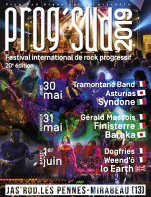 Plus d'infos sur l'évènement PROG'SUD FESTIVAL 2019