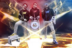 THE WACKIDS LA SOURIS VERTE concert de rock