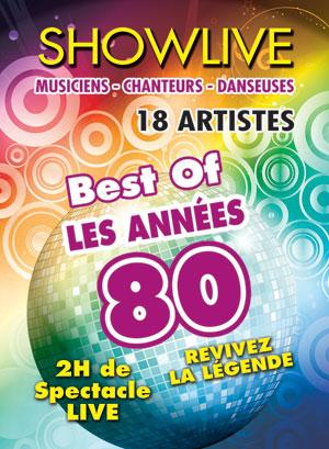 LES ANNEES 80 ARENES DE PALAVAS concert de chanson française