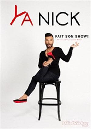 YA NICK FAIT SON SHOW! Le Quai du Rire one man/woman show