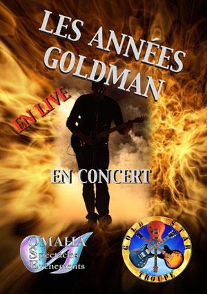 Plus d'infos sur l'évènement LES ANNEES GOLDMAN