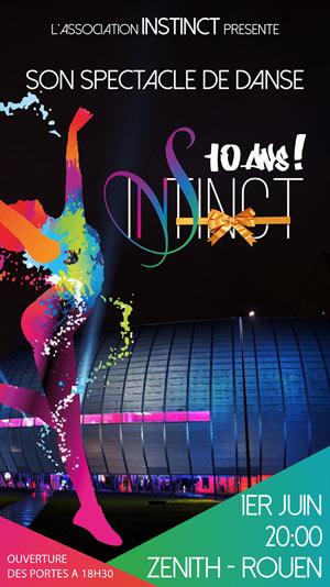 Plus d'infos sur l'évènement INSTINCT, 10 ANS
