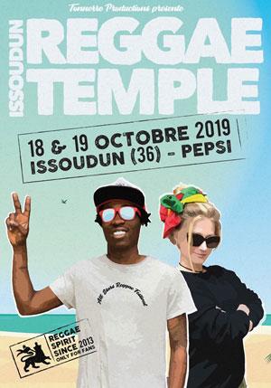ISSOUDUN REGGAE TEMPLE 2019 PALAIS DES EXPOSITIONS & DES SPORTS concert de reggae dub