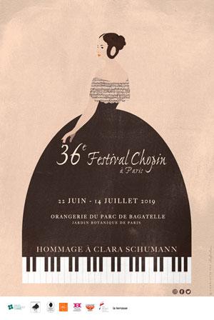 Plus d'infos sur l'évènement 36E FESTIVAL CHOPIN A PARIS