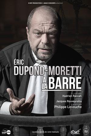 Plus d'infos sur l'évènement ERIC DUPOND-MORETTI À LA BARRE