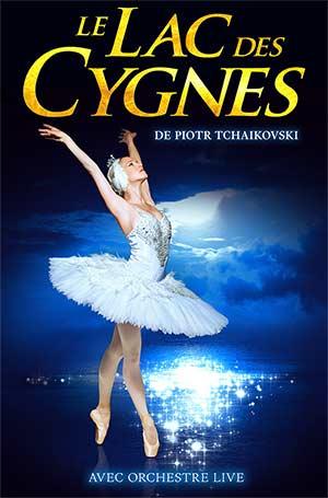 LE LAC DES CYGNES CENTRE DES CONGRES spectacle de danse classique