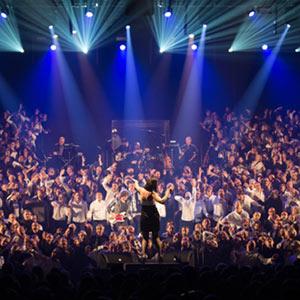 LE GRAND CHORAL ESPACE ARGENCE concert de chanson française